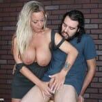 Amber Bach Lynn busty milf handjob