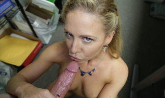 Cherie Deville jerking cock