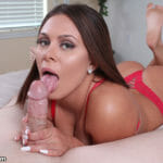 Mia Pearl giving head