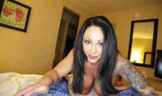 Ashton Blake posing naked