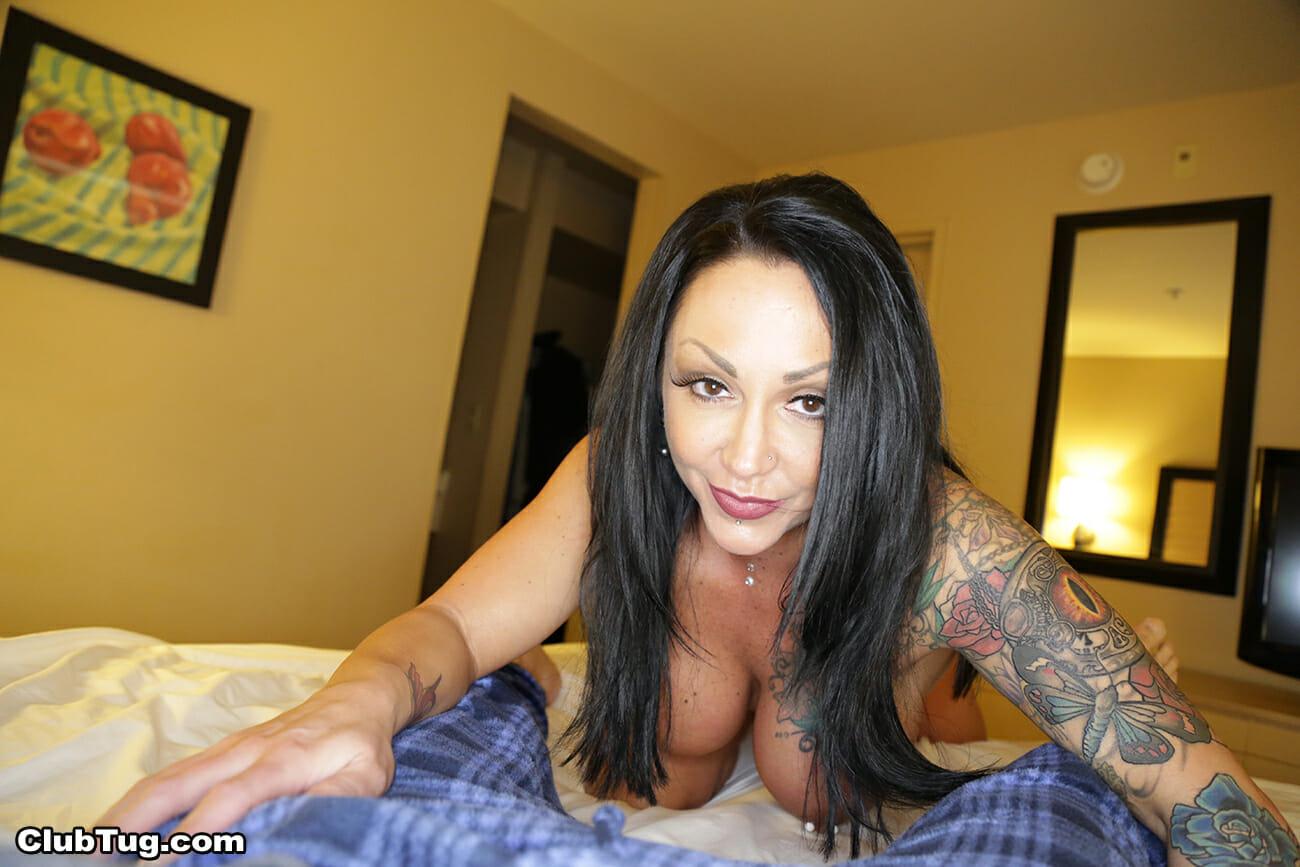 Ashton Blake Mom Go Black Porn tatted up milf ashton blake motivates step son with a blowjob