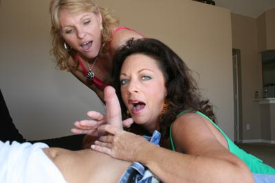 Jackie and Margo Handjob - March 02