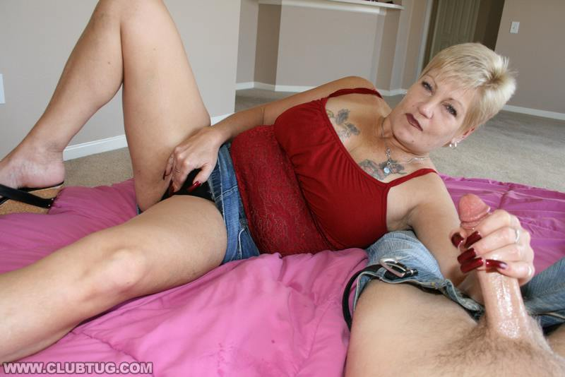 Mature tug job