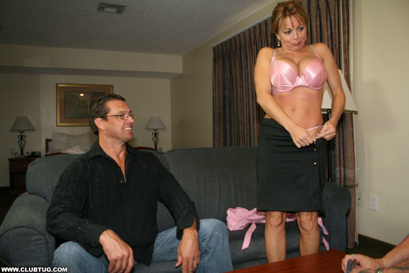 Jacking Off In Strip Club