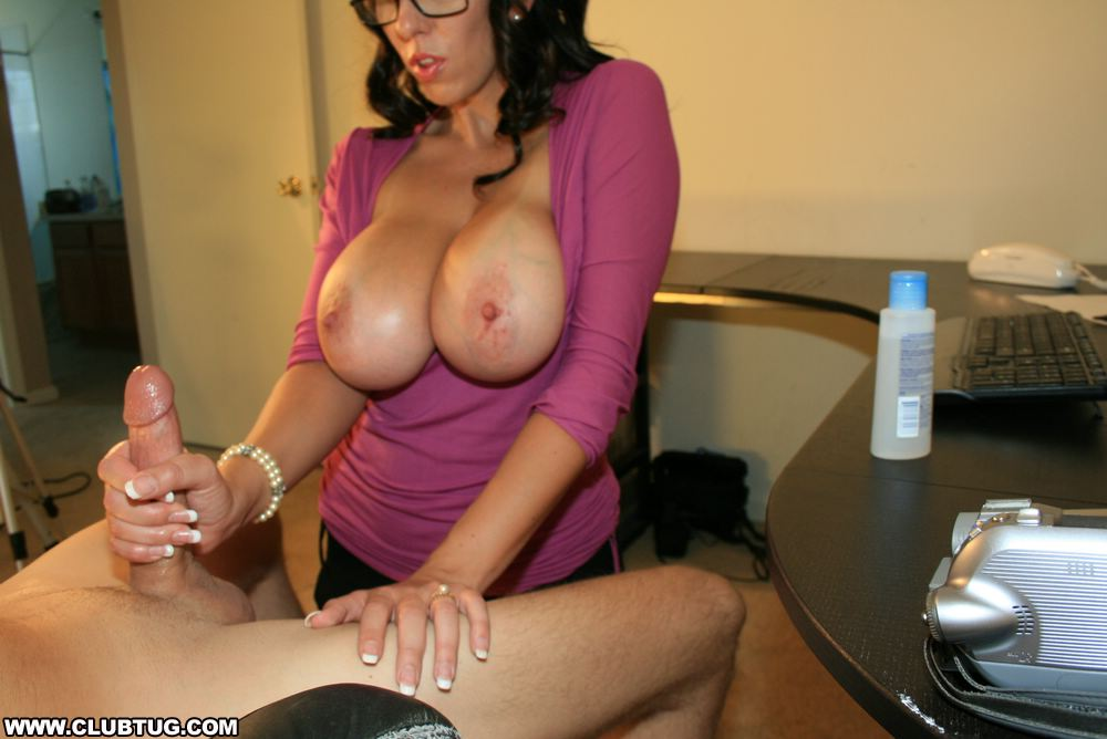 Funny handjob and naked woman party bitty