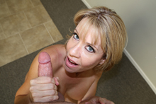 Mothers motivation Sex starved step mom gets naked and gives a incredible handjob .