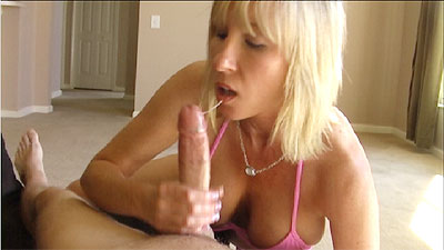 2 Amateur Granny Handjob   MOMMY SPITS AND TALKS DIRTY TO COAX CUM